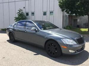 2007 MERCEDES BENZ S550 4MATIC NAVIATION CAMERA 174KM