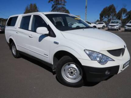 2009 Ssangyong Actyon Sports Ute
