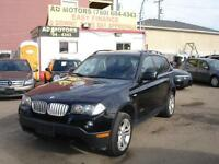 2010 BMW X3 AWD LEATHER LOADED 108KMS-100% APPROVED FINANCING!