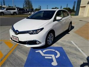 2017 Toyota Corolla ZRE182R MY17 Ascent Sport White 7 Speed CVT Auto Sequential Hatchback Cleveland Redland Area Preview