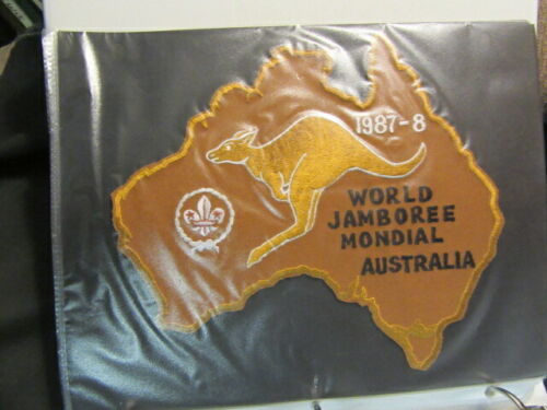1987-88 World Jamboree Patch Collection