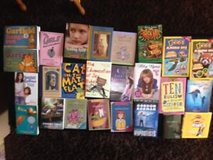 Assorted children & young adult books (25 books total) … MINT!