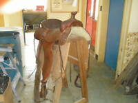 Custom Built All Round Saddles - for large horse & rider