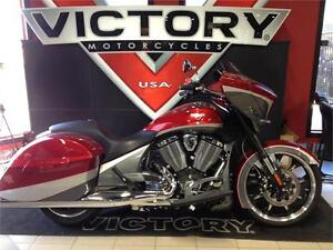 2015 Victory Magnum Red over Super Steel Grey-Blow Out Pricing!