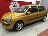 Renault Clio 1.4 16V DYNAMIQUE+ (yellow) 2001