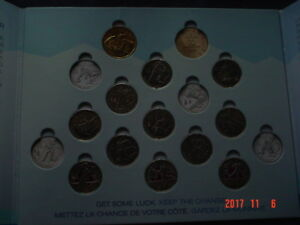 2010 VANCOUVER OLYMPIC WINTER GAMES - 17 COIN SET