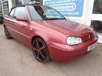 Volkswagen Golf 1.6 SE Convertible Full MOT Low miles 96k
