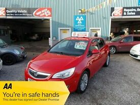 VAUXHALL ASTRA 1.4 EXCITE 5d 98 BHP 1.4 petrol low mileage (red) 2011