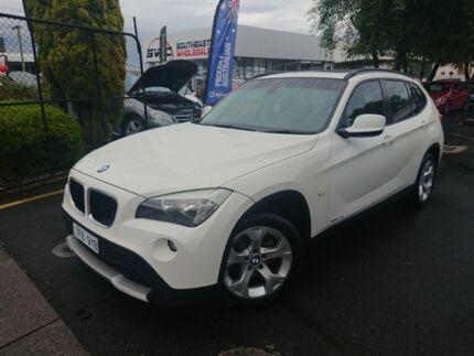 2012 BMW X1 E84 MY0312 xDrive20d Steptronic AWD White 6 Speed Sports Automatic Wagon Seaford Frankston Area Preview