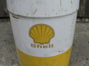 *Shell Oil Pail Black Cat Tobacco Tin, Glass Lids, Ninja Turtles