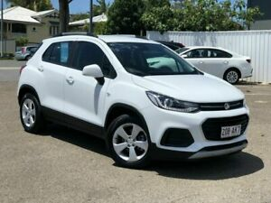 2019 Holden Trax TJ MY20 LS White 6 Speed Automatic Wagon Chermside Brisbane North East Preview
