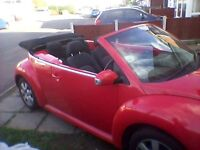 Vw beetle convertible good runner long mot