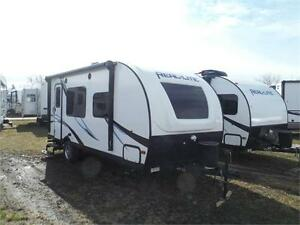 2017 Real Lite 182 Ultra Lite Travel Trailer with Slideout