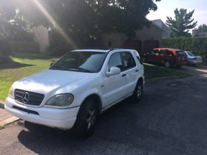 Mercedes ML430 with winter tires and rims included
