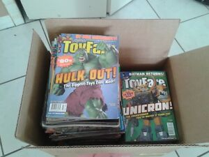Toy fare Magazine collection