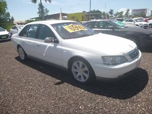 2007 Ford Fairlane BA Ghia White 6 Speed Auto Active Select Sedan Holtze Litchfield Area Preview