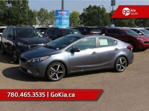 2018 Kia Forte EX+; SUNROOF, BACKUP CAMERA, HEATED SEATS/WHEEL,