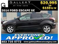 2014 Ford Escape SE $159 Bi-Weekly APPLY TODAY DRIVE TODAY