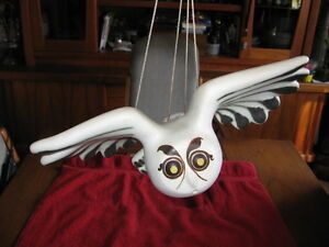 Strawberry Hill Pottery Vintage Flying Owl