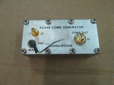 Hp Agilent 85680-60058 Comb Generator Assembly For 8568a