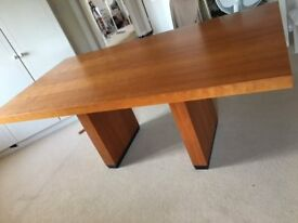 JOHN LEWIS CHERRY WOOD DINNING TABLE