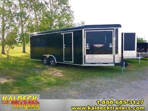 """H&H 101"""" x 20' + 5' Enclosed Combo Trailer"""