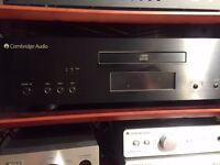 Impeccable (All Cambridge Audio) Amp + CD player/DAC/Pre-Amp (851C) & Tannoy speakers with Cables