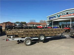 2017 Crestliner Retriever Jon Boats, 1756, 1860 and 2070 just in