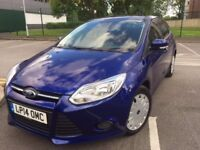 2014 Ford Focus 1.6TDCI Only34,800miles Full Ford Serv History,£0 TAX,Mot July18,1Owner fromNEW, P/X