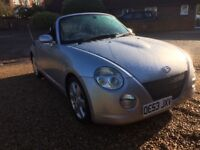 Daihatsu Copen convertible very low mileage long mot great condition inside and outside