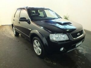 2007 Ford Territory SY Turbo (4x4) Black 6 Speed Auto Seq Sportshift Wagon Clemton Park Canterbury Area Preview