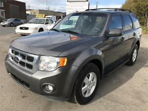 2012 Ford Escape XLT 4 CYL  AWD GAR 2 AN FINANCEMENT DISPONIBLE