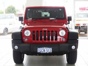 2014 Jeep Wrangler JK MY13 Sport (4x4) Red 5 Speed Automatic Softtop East Rockingham Rockingham Area Preview