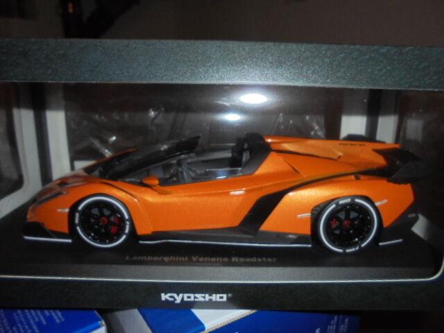 KYOSHO C09502ORW Lamborghini Veneno Roadster orange metallic - 1:18 #NEU in OVP