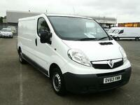 Vauxhall Vivaro 2900 2.0 CDTI 115PS LWB DIESEL MANUAL WHITE (2013)