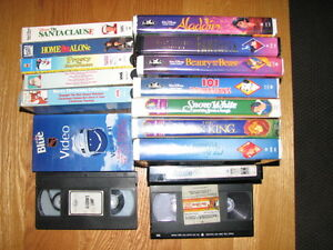 Over 100 vhs tapes, disney, John Wayne etc. Cambridge Kitchener Area image 2