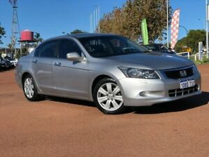 2009 Honda Accord 8th Gen V6 Luxury Silver 5 Speed Sports Automatic Sedan Melville Melville Area Preview