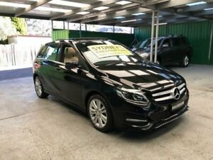 2016 Mercedes-Benz B-Class W246 806MY B180 DCT Black 7 Speed Sports Automatic Dual Clutch Hatchback Croydon Burwood Area Preview