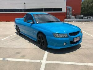 2005 Holden Commodore VZ Storm Blue 4 Speed Automatic Utility