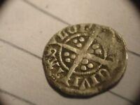 RICHARD 11 LONDON MINT HALF PENNY RARE COIN 1377-1399