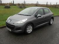 Peugeot 207 1.4HDI 70 ( a/c ) S 2010 ONLY 58850 Mls FSH £30 Lic Clean Tidy