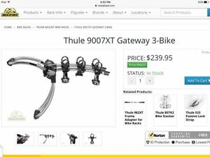 Thule Gateway 3 bike carrier 9007XT
