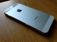 iphone 5 white vodaphone good condition