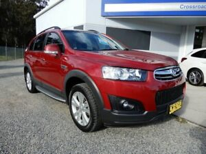 2015 Holden Captiva CG MY15 7 AWD LT Burgundy 6 Speed Sports Automatic Wagon Glendale Lake Macquarie Area Preview