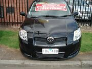 2008 Toyota Corolla ZRE152R Ascent Black 4 Speed Automatic Hatchback Tottenham Maribyrnong Area Preview
