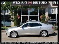 2011 Ford Fusion SE* FULLY LOADED* ACC FREE* SYNC