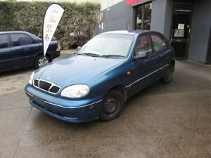 1997 Daewoo Lanos SE Blue 4 Speed Automatic Hatchback Epping Whittlesea Area Preview