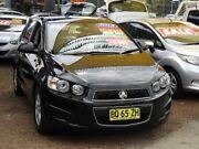 2012 Holden Barina TM MY13 CD Black 6 Speed Automatic Hatchback Minchinbury Blacktown Area Preview