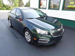 2015 Chevrolet Cruze 1LT only $129 bi-weekly all in!
