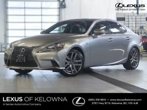 2014 Lexus IS 350 F-Sport Premium w/Navigation